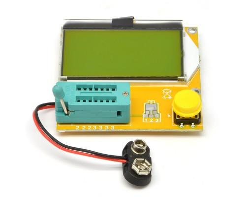 Универсальный тестер компонентов LCR-T4 измеритель транзисторов, диодов, тиристоров,RLC, ESR.