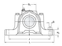 SNL 218   корпус подшипник  SKF