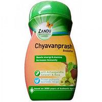 Чаванпраш плюс, Занду/Zandu, 900 гр, иммунитет, витамины, минералы, омоложение, очищение организма