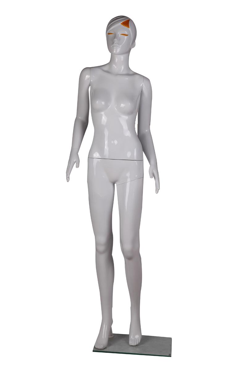 Манекен женский пластик 177*41*83*62*86cm