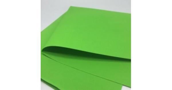 Фоамиран 50х50 см, толщина 2 мм, светло Зеленый