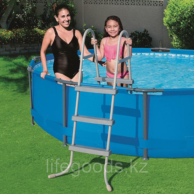 Лестница для бассейнов высотой борта до 91 см, Bestway 58334