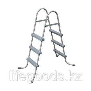 Лестница для бассейнов высотой борта до 91 см, Bestway 58334, фото 2