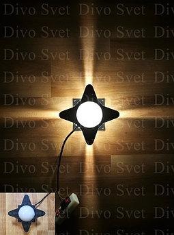 """LED светильник """"Луч Четырёхсторонний"""" 5 W. Светодиодный архитектурный, фасадный узконаправленный с линзами."""