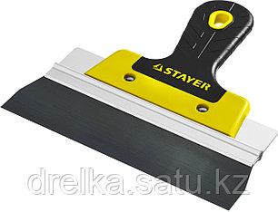 ProFlat фасадный шпатель анодированный 200 мм, 2к ручка, STAYE, фото 2
