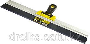 ProFlat фасадный шпатель анодированный 600 мм, 2к ручка, STAYER, фото 2