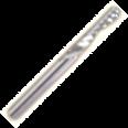 """1-о перая с правой спиральной заточкой и """"О""""-образным пером (для алюминия)"""