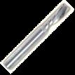 """1-о перая с левой спиральной заточкой и """"О""""-образным пером (для алюминия)"""