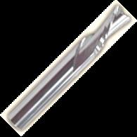 """2-х перая с правой плавной спиральной заточкой и """"О""""-образным пером (для мягкого и твердого пластика)"""