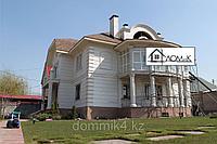 Фасадные панели утепления, колонны, оконные обрамления, карниз, межэтажный пояс, фото 1