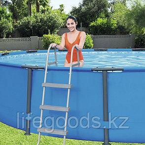 Лестница для бассейнов высотой борта 107 см, Bestway 58335, фото 2