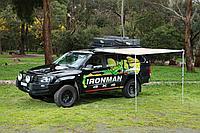 Тент маркиза с подсветкой IRONMAN 2.0 м на 2.5 м
