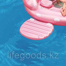 "Надувной остров ""Фламинго"" 422x373x185см, Intex 57267, фото 3"
