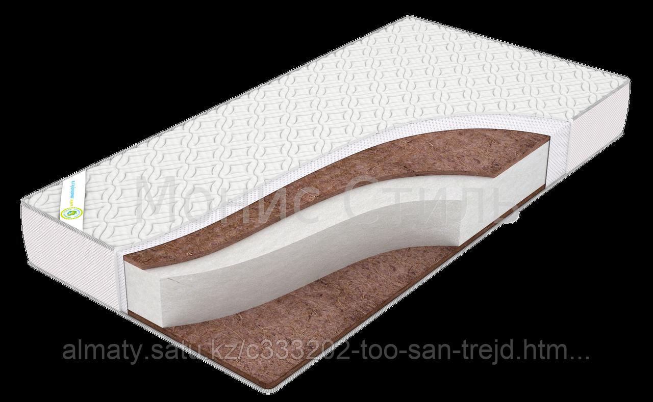 Детский Матрас Султан Комфорт(биококос  10 мм4нетканное волокно;холкон  100мм;биококос 10мм)120*60