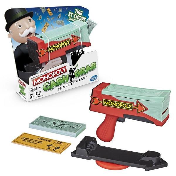 Hasbro Monopoly  Настольная игра Монополия Деньги на воздух