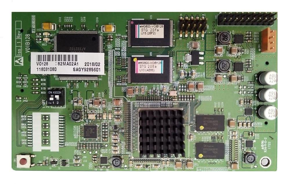 VOIB128 - плата IP-телефонии