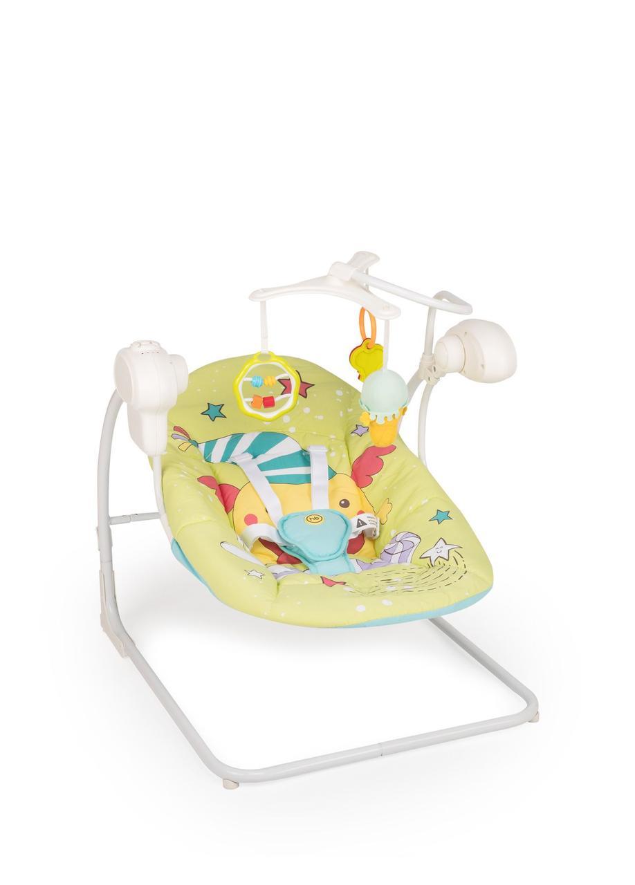 Happy Baby Кресло-качели Jolly V2, зелёный