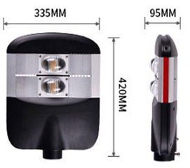 Уличный светодиодный консольный светильник