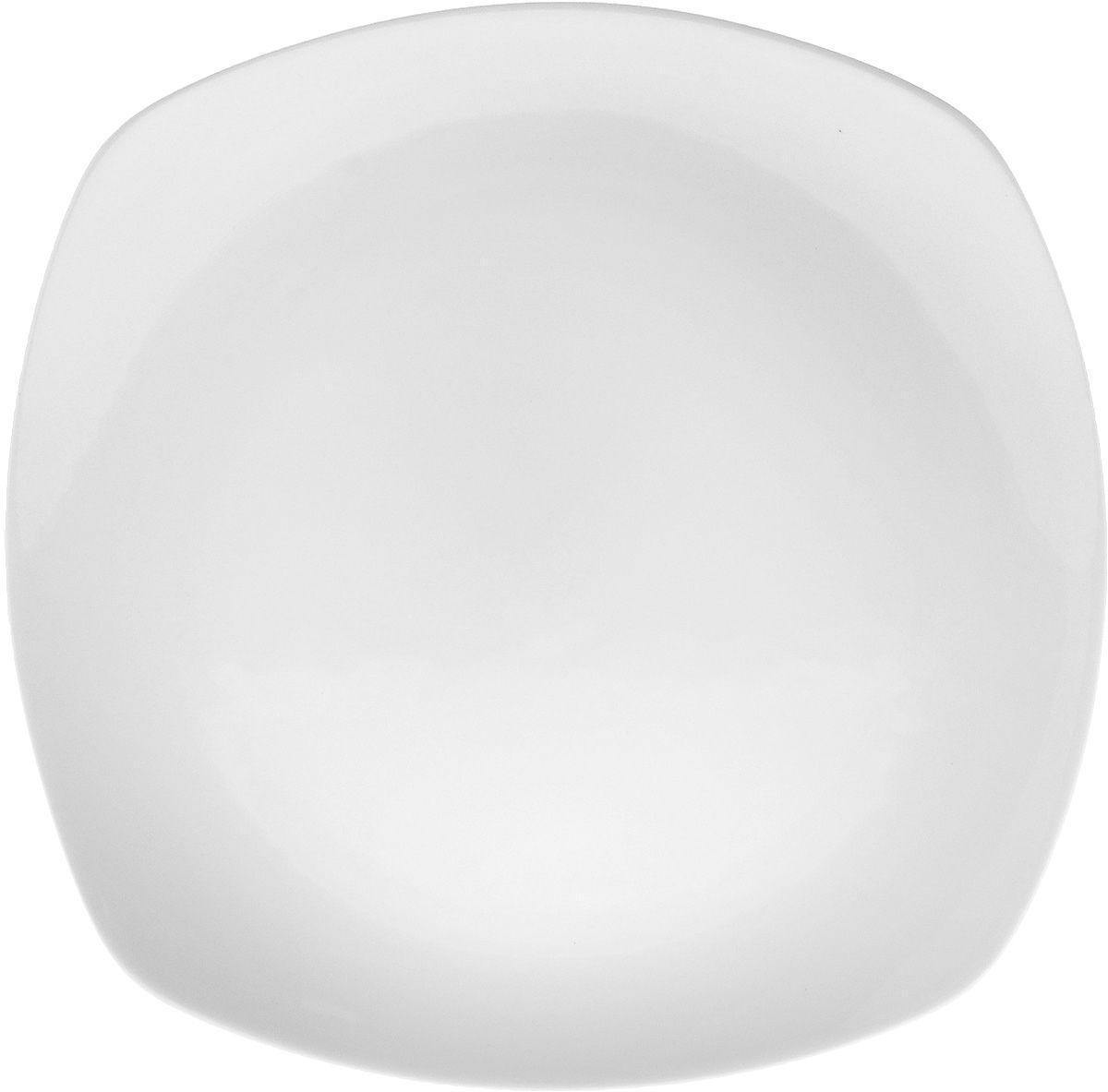 Тарелка обеденная Wilmax квадратная 24,5 см