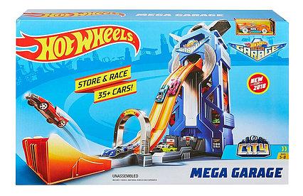 Трек Hot Wheels Мега гараж