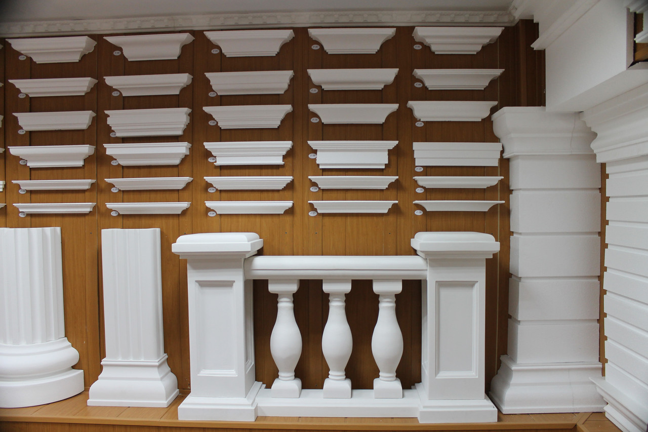 Декоративные пилястры из пенопласта (пенополистирола) для декора фасадов