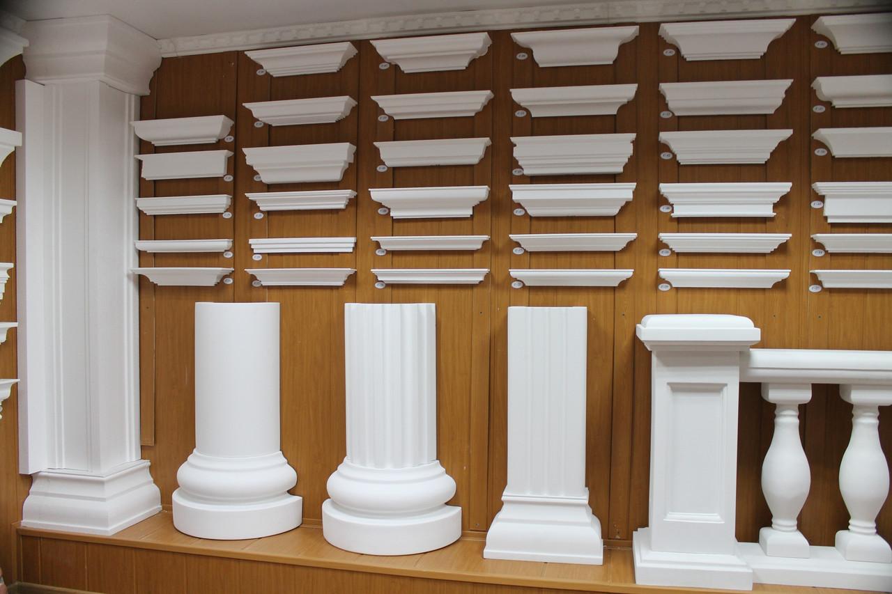 Фасадные подоконники из пенопласта