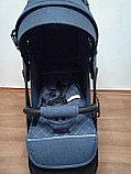 Коляска Mstar (Baby Grace) с чехлом на ножки Джинс, фото 4