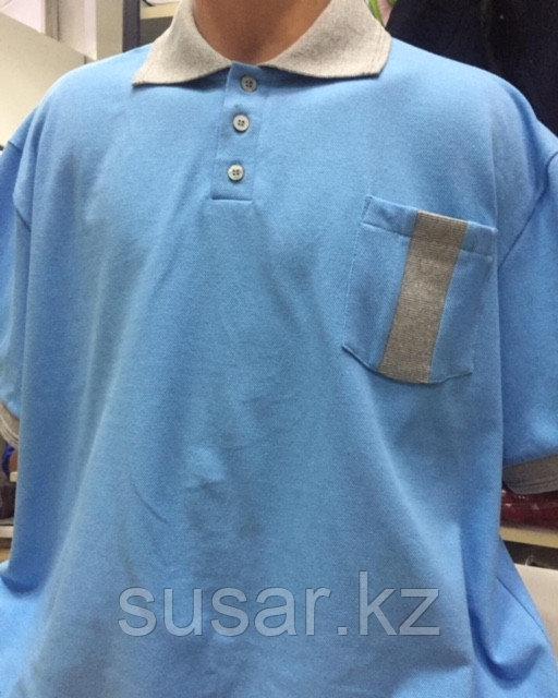 Рубашка-поло больших размеров