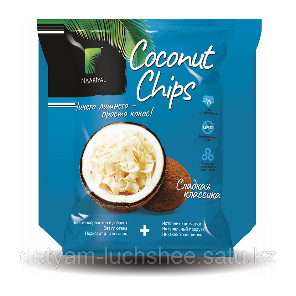 Кокосовые чипсы сладкая классика 40 грамм