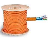 Кабель F/UTP кат.6 Оранжевый LSZH 4x2х23AWG solid 305м ITK
