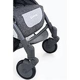 Коляска прогулочная Glamvers Go-Go с накидкой на ножки Серый / Grey, фото 3