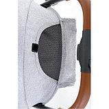 Коляска прогулочная Glamvers Go-Go с накидкой на ножки Серый / Grey, фото 4