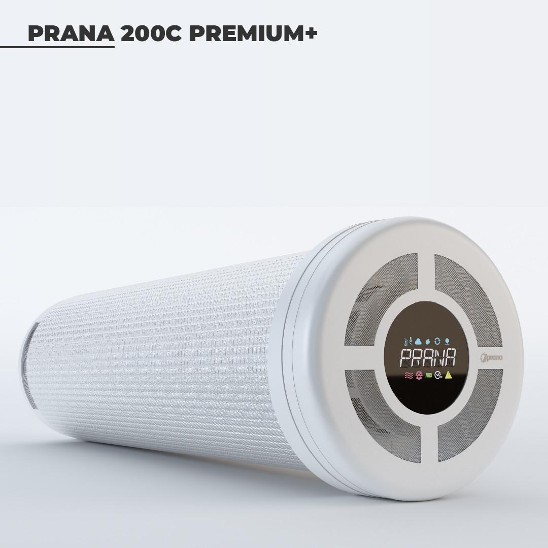 Рекуператор «PRANA-200С PREMIUM PLUS»