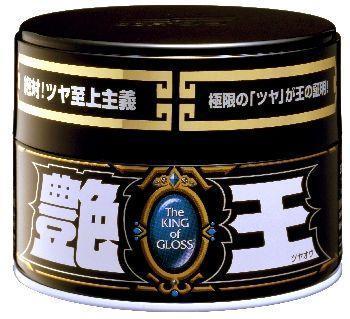 Полироль для кузова усиление блеска Soft99 The King of Gloss для темных, 300 гр