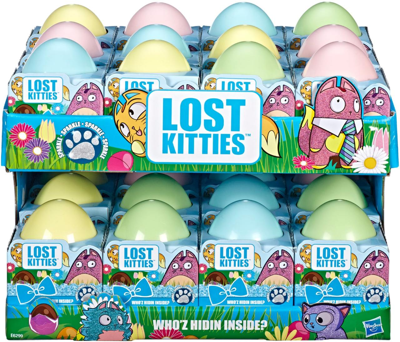 "Hasbro Lost Kitties Игровой набор ""Котиком блестящей серии"""