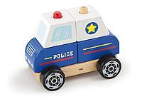 """Деревянная игрушка """"Полицейская машина"""", фото 1"""