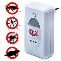 Ультразвуковой Отпугиватель насекомых и мышей, Pest Reject, пест репеллер. Пест реджект от грызунов, таракан