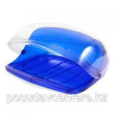 Хлебница пластиковая с прозрачной крышкой
