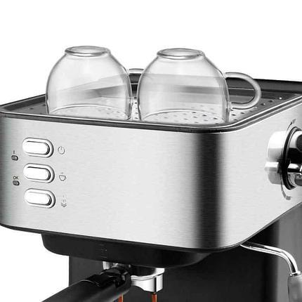 Кофемашина полуавтоматическая DSP с каппучинатором, фото 2