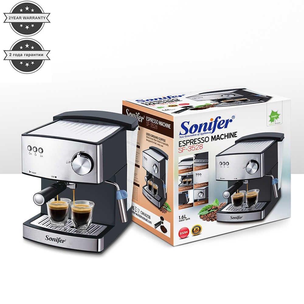 Кофемашина Sonifer 3528 полуавтоматическая с капучинатором