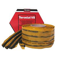 TEROSON RB VII 10 метров Пластичный герметик-лента, круглый профиль, черный