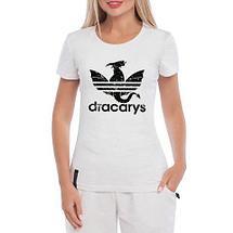 Футболка фаната «Игры престолов» с принтом ч.2 (L / dracarys), фото 3