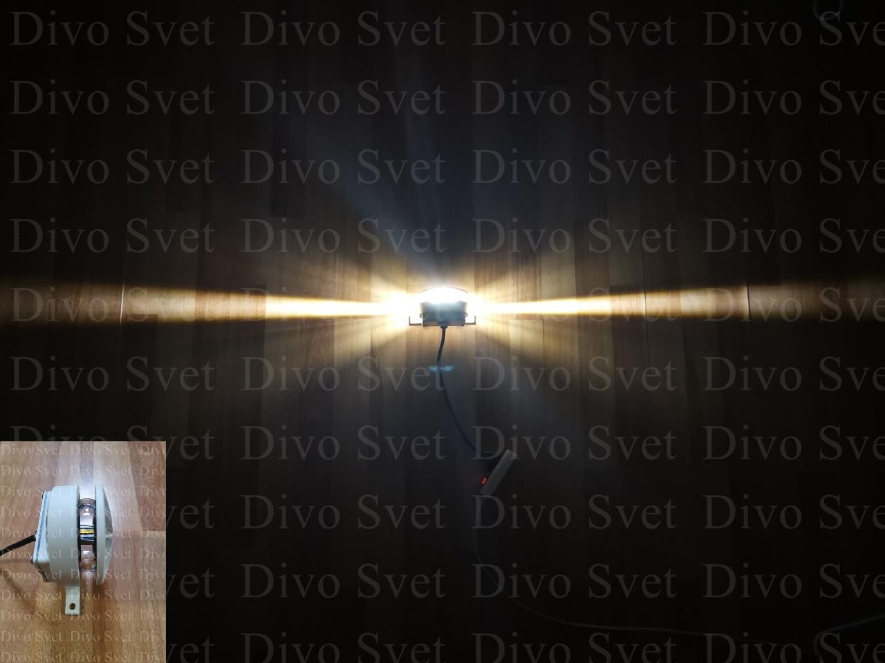 """LED светильник """"Луч 360гр"""" 12 W. Светодиодный архитектурный, фасадный узконаправленный с линзой."""