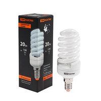 Лампа энергосберегающая TDM КЛЛ-FSТ2 'КОМПАКТ', Е14, 20 Вт, 4000 К, 41 х 113 мм