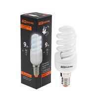 Лампа энергосберегающая TDM КЛЛ-FSТ2 'КОМПАКТ', Е14, 9 Вт, 4000 К, 35 х 95 мм