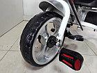 Трехколесный велосипед с родительской ручкой широкие колеса, фото 10