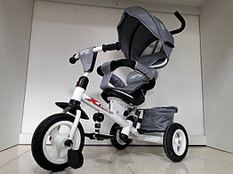 Трехколесный велосипед с родительской ручкой широкие колеса