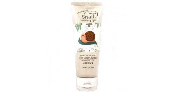 Пилинг-гель для лица Esfolio Snail Peeling Gel 150ml.