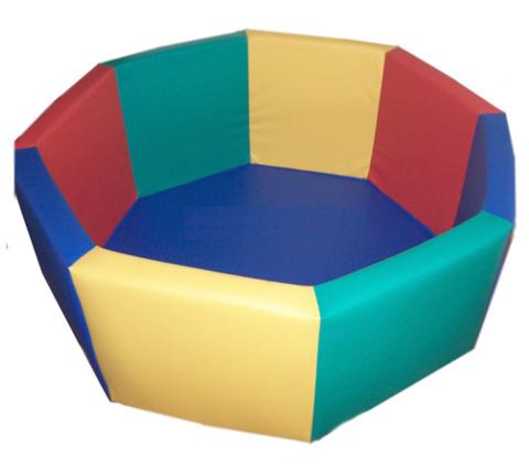 «Сухой бассейн»  без аппликации (мягкое дно) объем: 0,3 м3