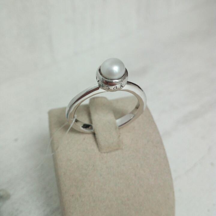 Кольцо Misaki с жемчугом
